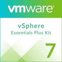 VMware vSphere 7 Essentials Plus Kit for 3 hosts (Max 2 processors per host)